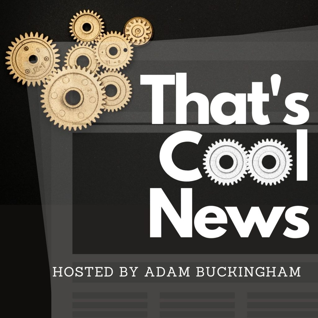 That's Cool News Podcast Large Logo