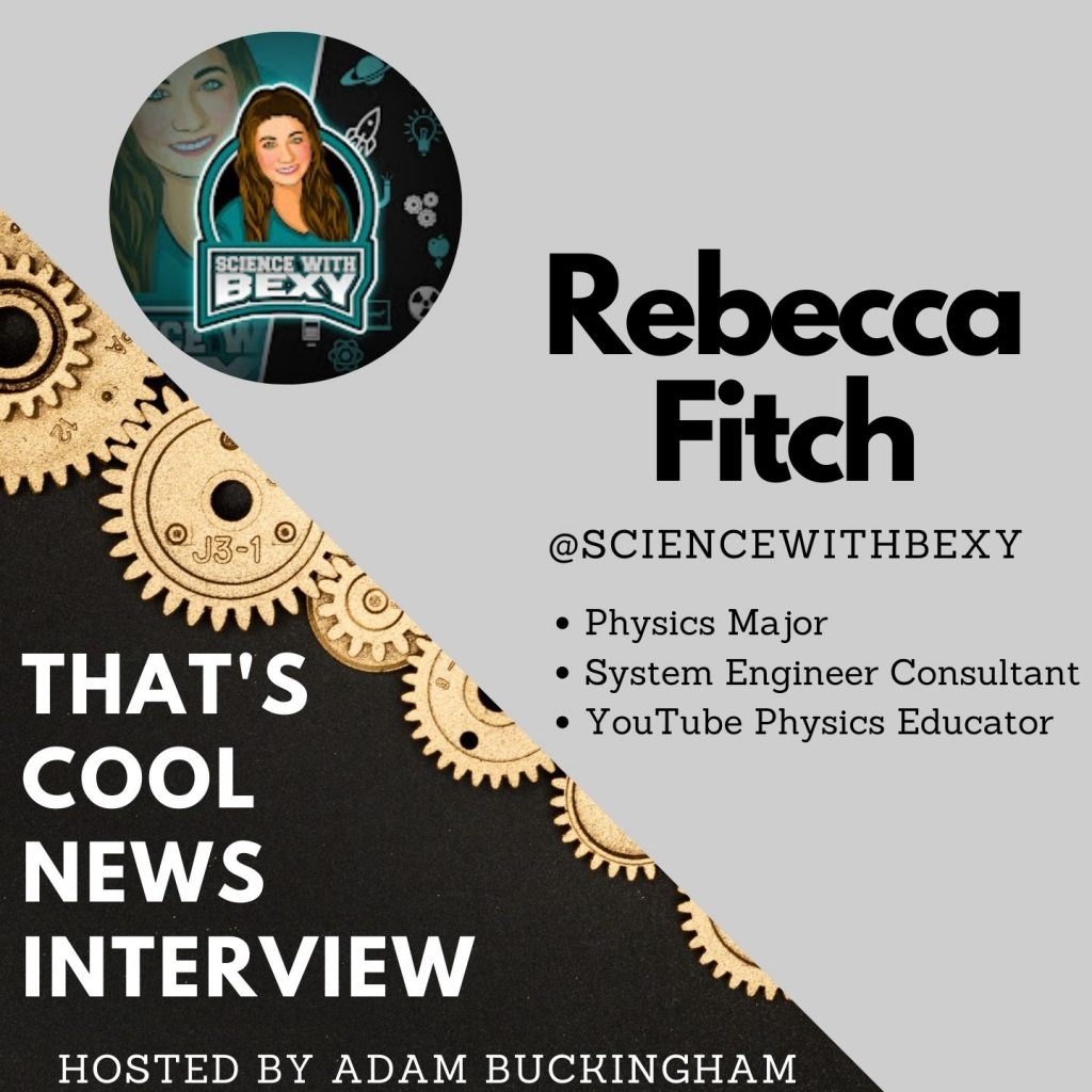 Physics Educator on YouTube, System Engineer Consulting, Working at a Nuclear Fusion Reactor | Rebecca Fitch Interview Image