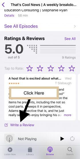 Click Write Review